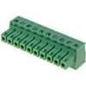 Rozpojovací svorkovnice zásuvka 0,5-1,5mm2 3,81mm 10PIN 7A