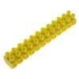 Svorkovnice svorky:12 šroubová svorka s ochranou vodiče 32A