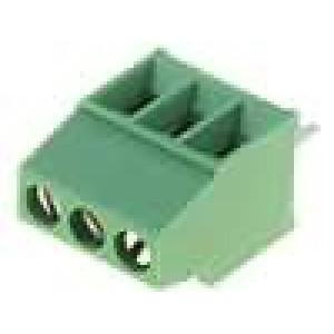 Svorkovnice úhlové 90° 0,03-1mm2 2,54mm 3 PIN 10A 150V