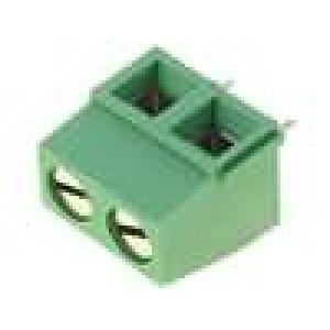 Svorkovnice úhlové 90° 0,03-1,5mm2 5mm póly:2 13,5A 300V