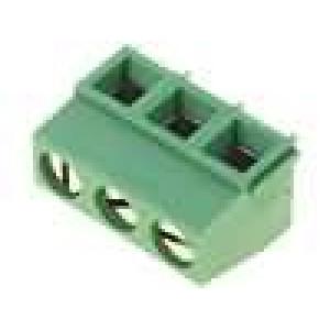 Svorkovnice úhlové 90° 0,03-1,5mm2 5mm 3 PIN 13,5A 300V
