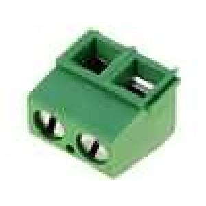 Svorkovnice úhlové 90° 0,03-1,5mm2 5,08mm póly:2 13,5A 250V
