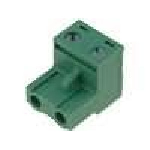 Rozpojovací svorkovnice zástrčka přímý 7,5mm šroubové svorky