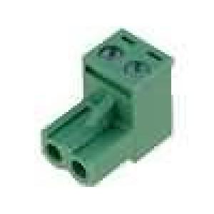 Rozpojovací svorkovnice zásuvka přímý 5mm šroubové svorky