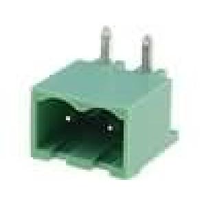 Rozpojovací svorkovnice zásuvka vidlice úhlový 5mm THT 20A