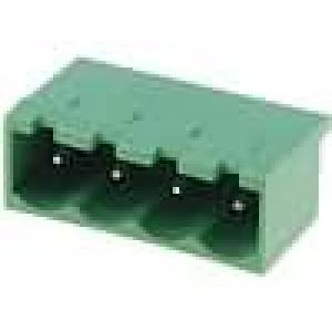 Rozpojovací svorkovnice zásuvka vidlice přímý 5mm THT póly:4