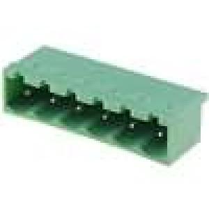 Rozpojovací svorkovnice zásuvka vidlice přímý 5mm THT póly:6