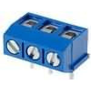 Svorkovnice přímý 2,5mm2 5mm 3 PIN pocínovaný 17,5A UL94V-0