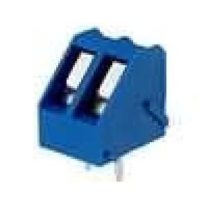 Svorkovnice úhlové 45° 2,5mm2 5mm póly:2 pocínovaný 15A 300V
