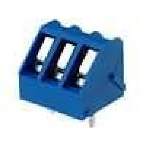Svorkovnice úhlové 45° 2,5mm2 5mm 3 PIN pocínovaný 15A 300V