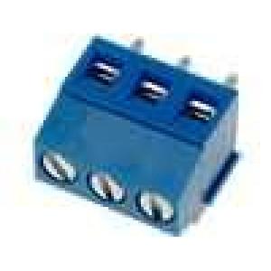 Svorkovnice úhlové 90° 1,5mm2 3,5mm 3 PIN pocínovaný 10A