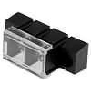 Svorkovnice s krytkou 10mm póly:2 pocínovaný 20A UL94V-0