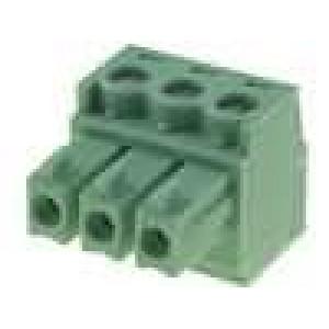 Rozpojovací svorkovnice zástrčka 3,81mm 3 PIN 8A 160V