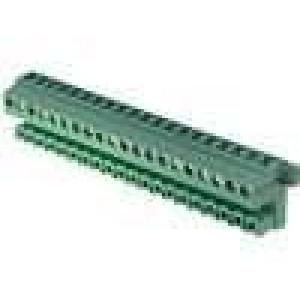 Rozpojovací svorkovnice zástrčka úhlový svislý 5,08mm 12A