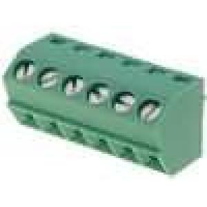 Svorkovnice úhlové 55° 3,5mm THT póly:6 10A