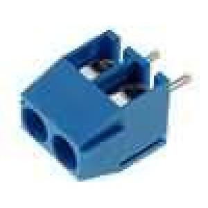Svorkovnice úhlové 90° 0,5-1,5mm2 3,5mm póly:2 pocínovaný