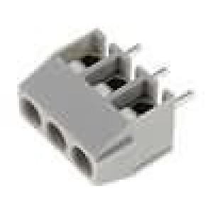 Svorkovnice úhlové 90° 0,5-1,5mm2 3,5mm 3 PIN pocínovaný