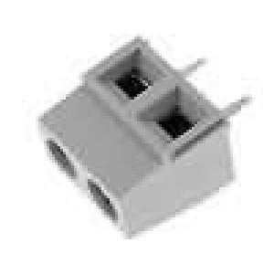 Svorkovnice úhlové 90° 5mm póly:2 13,5A UL94V-0 16-30AWG