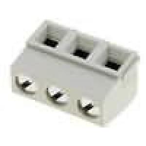 Svorkovnice úhlové 90° 5mm 3 PIN 13,5A UL94V-0 16-30AWG