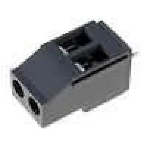 Svorkovnice úhlové 90° 0,5-4mm2 5mm póly:2 pocínovaný 20A