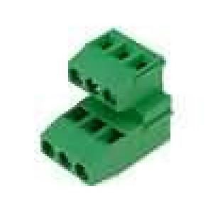 Svorkovnice patrové úhlové 90° 1,5mm2 5mm póly:6 24A