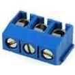 Svorkovnice úhlové 90° 1,5mm2 5mm 3 PIN pocínovaný 16A 250V