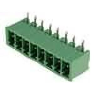 Rozpojovací svorkovnice zásuvka vidlice úhlové 90° 3,5mm