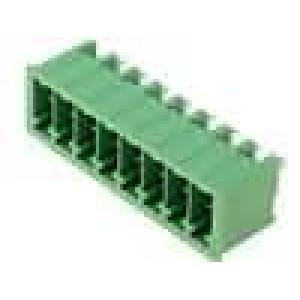 Rozpojovací svorkovnice zásuvka vidlice přímý 3,5mm póly:8