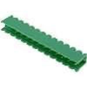 Rozpojovací svorkovnice zásuvka přímý 5,08mm THT póly:13