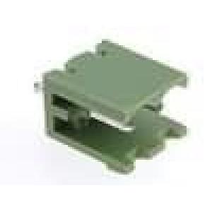 Rozpojovací svorkovnice zásuvka přímý 5,08mm THT póly:2