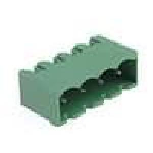 Rozpojovací svorkovnice zásuvka vidlice přímý 5,08mm póly:4
