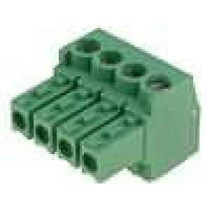 Rozpojovací svorkovnice zástrčka zásuvka 3,5mm póly:4 11A