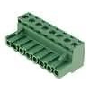 Rozpojovací svorkovnice zástrčka zásuvka 2,5mm2 5,08mm 15A