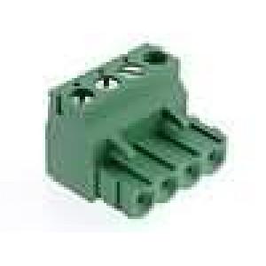 Rozpojovací svorkovnice zástrčka zásuvka 5,08mm póly:4 15A