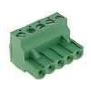 Rozpojovací svorkovnice zástrčka zásuvka 5,08mm póly:5 15A