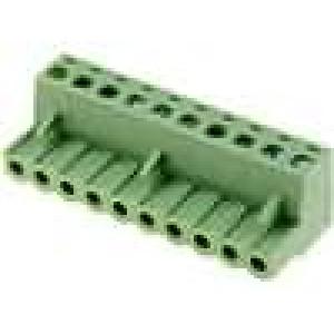 Rozpojovací svorkovnice zástrčka zásuvka přímý 5mm 10PIN