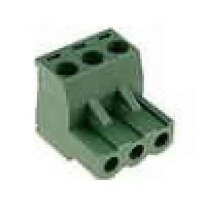 Rozpojovací svorkovnice zástrčka zásuvka přímý 5mm 3 PIN