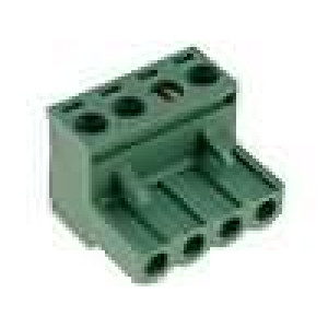 Rozpojovací svorkovnice zástrčka zásuvka přímý 5mm póly:4