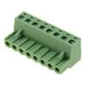 Rozpojovací svorkovnice zástrčka zásuvka přímý 5mm póly:8