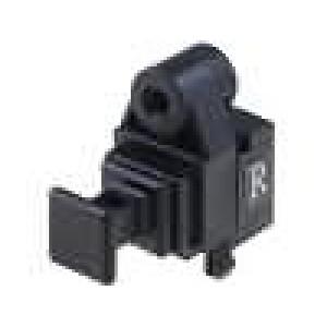 Zásuvka, světlovodný přijímač optické (Toslink) s krytkou