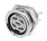 Zásuvka DIN zásuvka 5 PIN vývody 360° pájení 34V