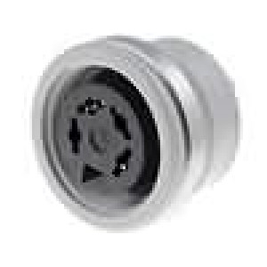 Zásuvka DIN zásuvka 4 PIN vývody 216° pájení