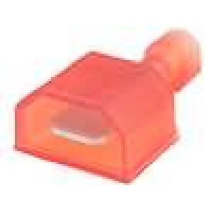 Konektor plochý 6,3mm 0,8mm kolík 0,3-0,9mm2 krimpovací