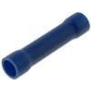 Spojka 1,5-2,5mm2 krimpovací na kabel izolovaná pocínovaný