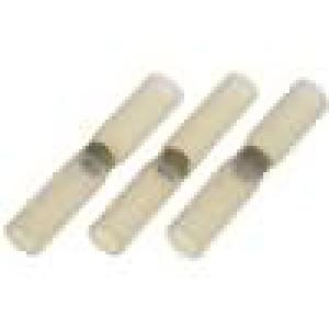Sada samopájecích spojovacích trubiček 0,2-0,5mm2 bilá 3ks