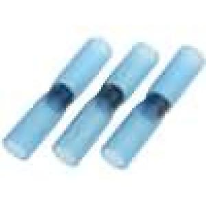 Sada samopájecích spojovacích trubiček 1,5-2,5mm2 modrá 3ks