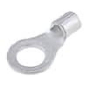 Zakončovací očko M5 1-2,5mm2 krimpovací na kabel neizolované