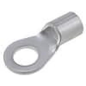 Zakončovací očko M6 8mm2 krimpovací na kabel neizolované