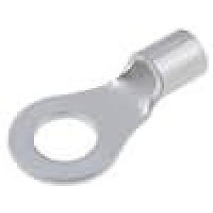 Zakončovací očko M8 8mm2 krimpovací na kabel neizolované