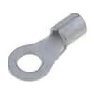 Zakončovací očko M5 2,5-6mm2 neizolované pocínovaný měď